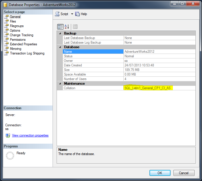 SQL Collation – Overview
